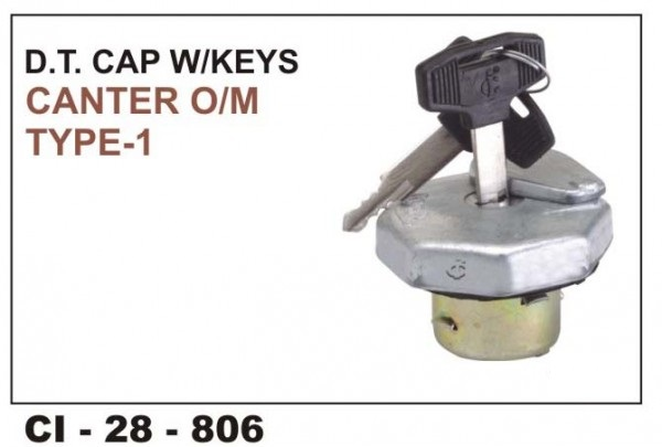 Fuel Tank Cap W/Key Canter CI-806