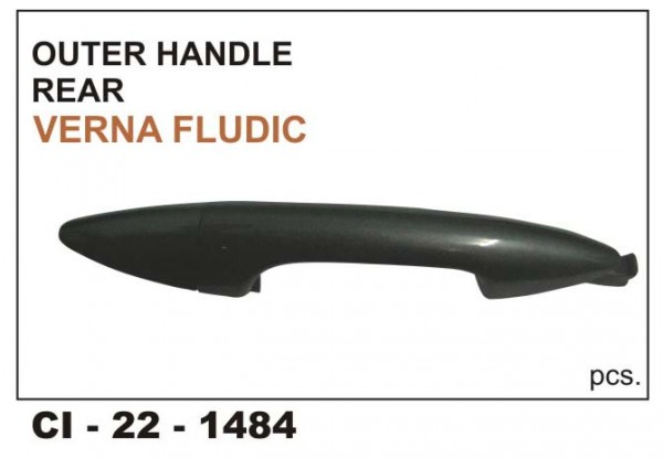 Outer Door Handle Verna Fluidic.(Rear)LHS CI-1484L