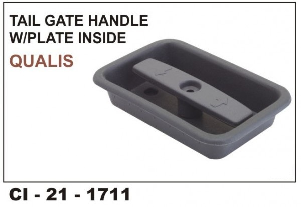 Dicky Handle (Inner) With Plate Qualis CI-1711