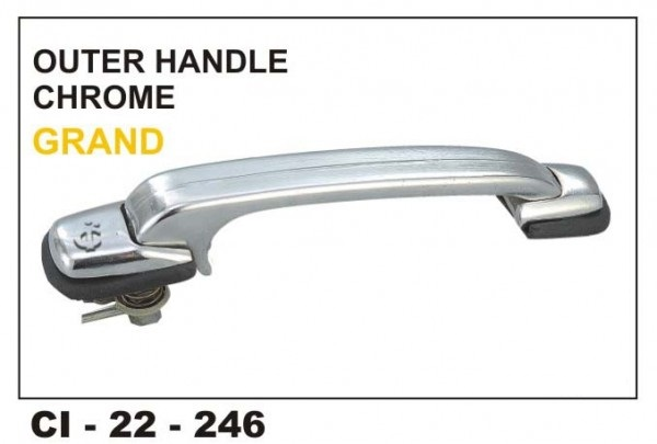 Outer Door Handle Isuzu Grand Chrome Plated LHS CI-246L
