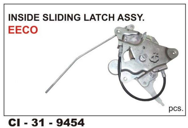 Inside Sliding Latch Assembly Eeco/Versa LHS CI-9454L