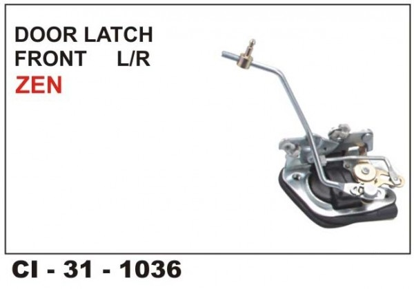 Door Latch Assembly Zen Front LHS CI-1036L