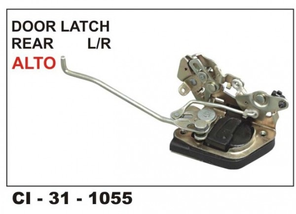 Door Latch Assembly Alto Rear RHS CI-1055R