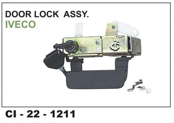 Door Lock Assembly Iveco CI-1211