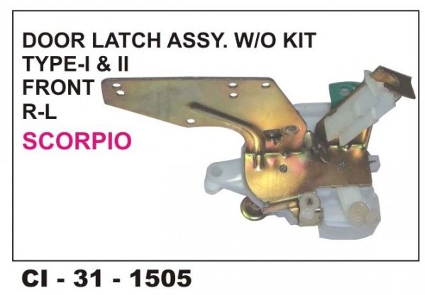 Door Latch Assembly Scorpio (W/O Kit) Front LHS CI-1505L