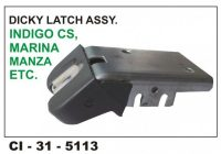 Dicky Latch Assembly Indigo, Marina, Cs, Manza CI-5113