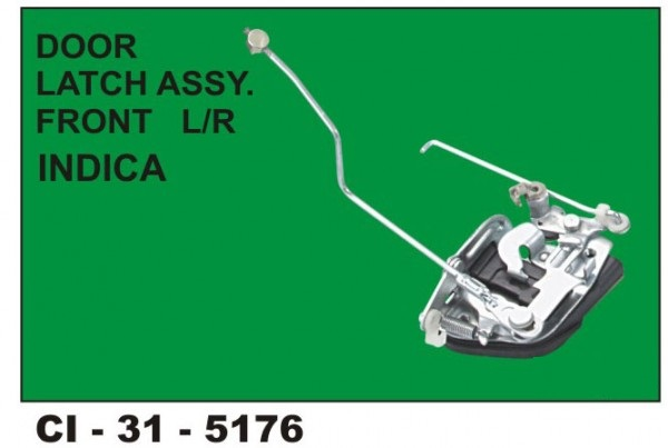 Door Latch Assembly Indica Front LHS CI-5176L
