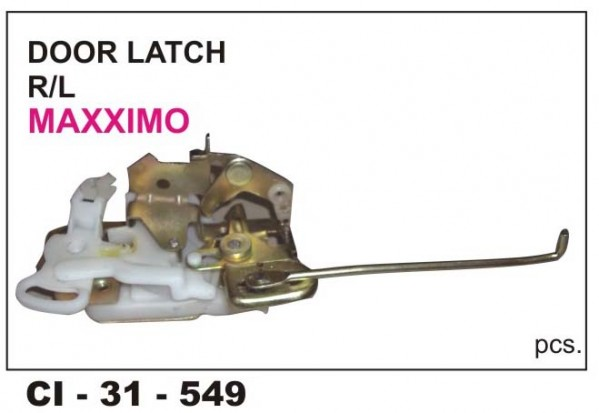 Door Latch Assembly Maximo LHS CI-549L