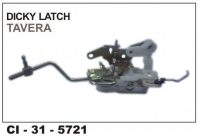 Dicky Latch Assembly Tavera CI-5721