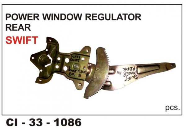 Power Window Regulator Swift Rear LHS CI-1086L