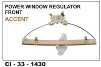 Power Window Regulator Accent Front LHS CI-1430L