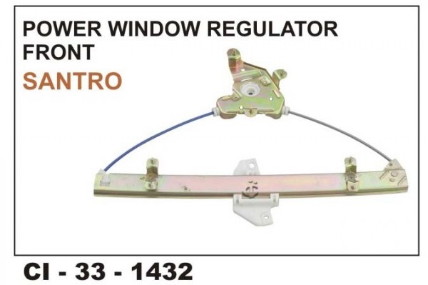 Power Window Regulator Santro / Santro Xing Front LHS CI-1432L