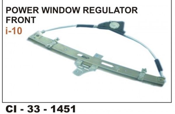 Power Window Regulator I10 Front RHS CI-1451R