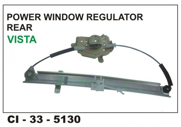 Power Window Regulator Indica Vista Rear LHS CI-5130L