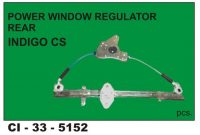 Power Window Regulator Indigo Cs Rear LHS CI-5152L