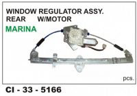Power Window Regulator W/Motor Indigo Marina Rear LHS CI-5166L