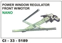 Power Window Regulator W/Motor Tata Nano Front LHS CI-5189L