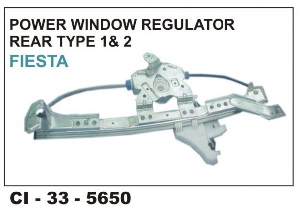 Power Window Regulator Ford Fiesta T1 & T2 Rear LHS CI-5650L