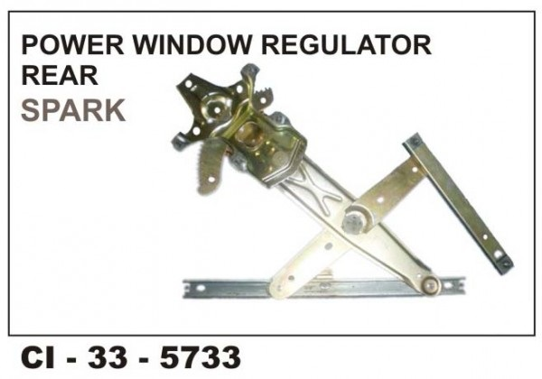 Power Window Regulator Spark Rear LHS CI-5733L