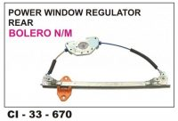 Power Window Regulator Bolero Rear LHS CI-670L
