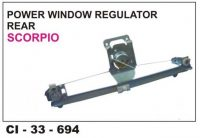 Power Window Regulator Scorpio Rear LHS CI-694L