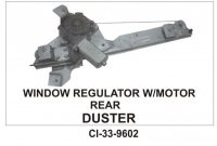 Power Window Regulator With Motor Duster Rear RHS CI-9602R