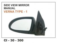 Side View Mirror Mannual Verna Type-1