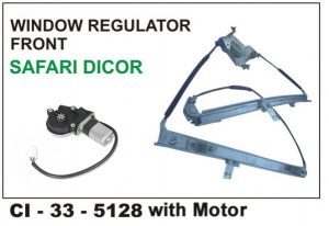Power Window Regulator Tata Safari N/M Rear RHS CI-793R (M) – With Motor