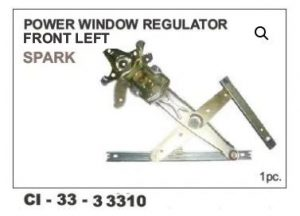 Power Window Regulator Spark Front LHS CI-33310L With Motor